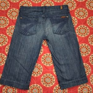 7 for all mankind DOJO jean shorts size 26 (7fam)